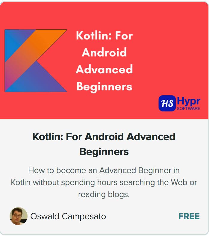 Kotlin Course screencap