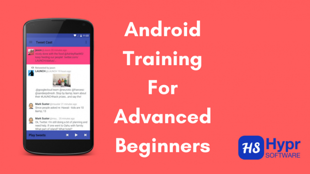 Android training for advanced beginners 2